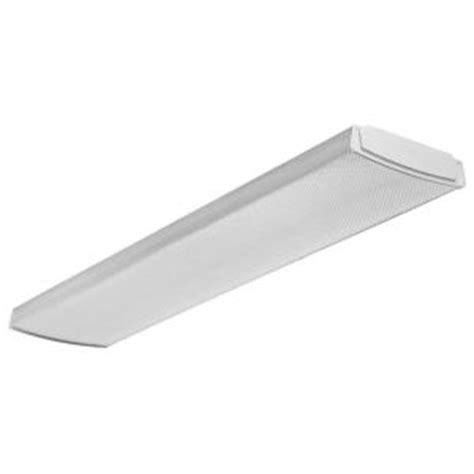 led lighting home depot lithonia lighting 4ft 41 watt white integrated led low