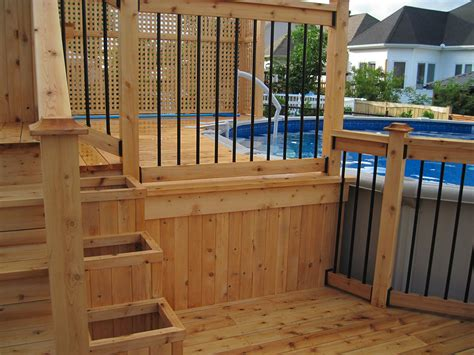 cloture pour patio paysagiste patio pergola et cl 244 tures de bois