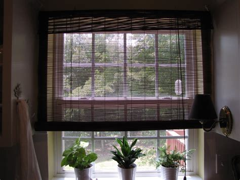 matchstick curtains interior black matchstick blinds design ideas with glass