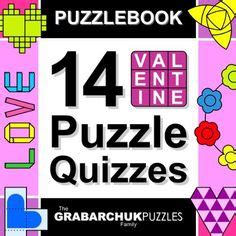 valentines gifts for crossword puzzle book as a valentines day gift for valentines day gifts for or books puzzle books on puzzles quizes and puzzle books