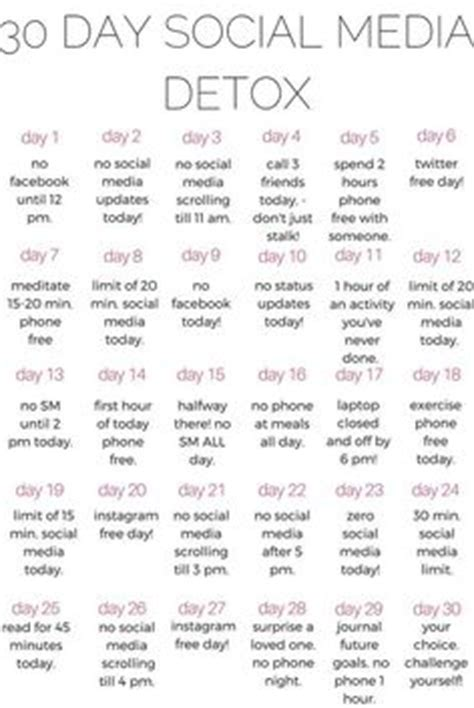 30 Day Spiritual Detox by 30 Day Self Care Challenge Constantly Tired Feeling