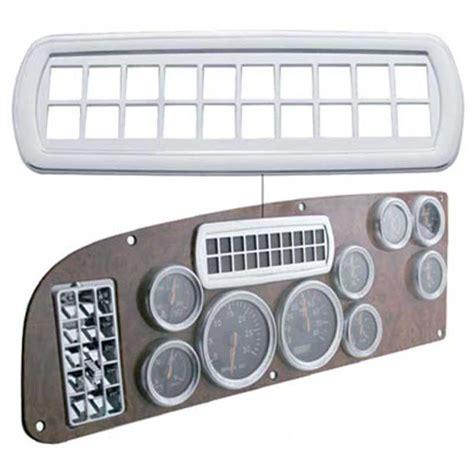 peterbilt dash indicator lights big rig chrome shop semi truck chrome shop truck