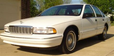 how to fix cars 1995 chevrolet impala free book repair manuals sell used 1995 caprice classic rust free two owners