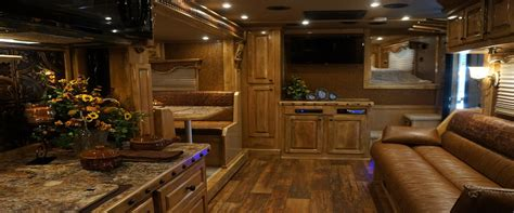 Horse Trailer Floor Plans by Outlaw Conversions Interiors 20 Don Johnson Sales