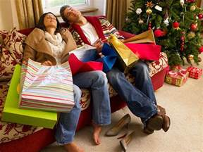 i hate christmas shopping