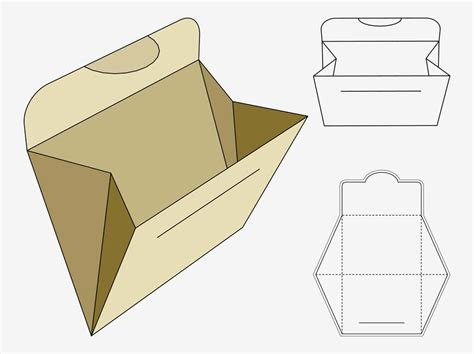 Folding Paper Templates - folder paper craft vector graphics freevector