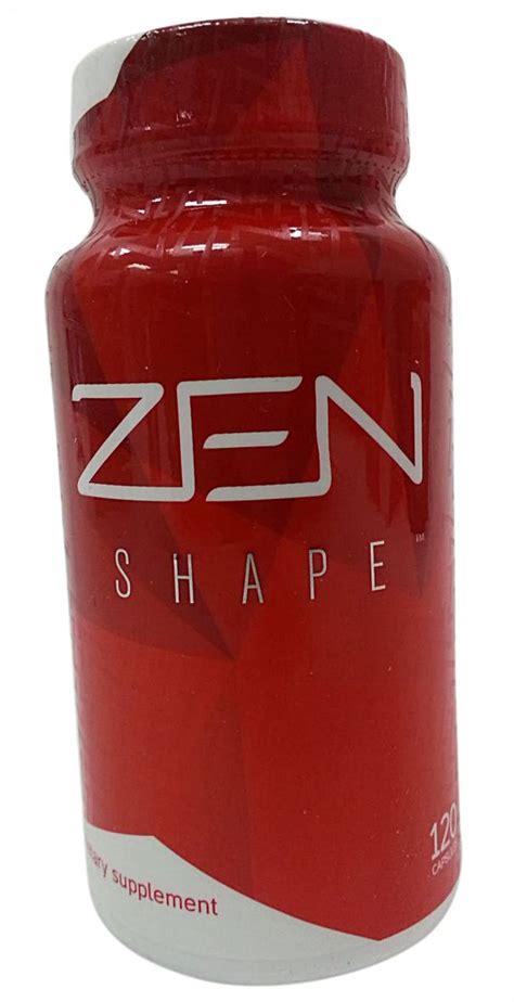 supplement zen jeunesse zen shape weight loss supplement 120 capsules
