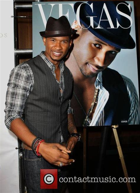 usher july usher vegas magazine s july august issue party at the