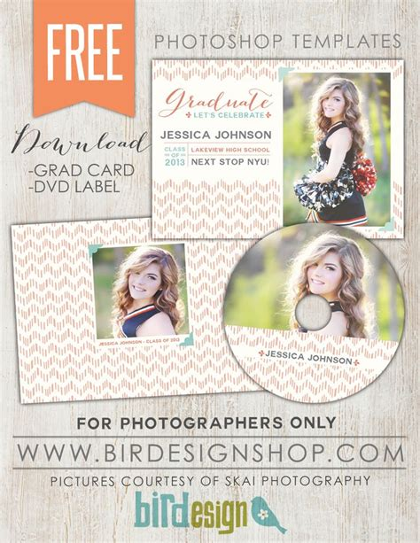 free senior templates for photoshop 25 best ideas about graduation announcement template on
