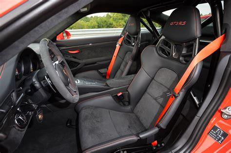 Porsche Gt3 Interior by 2016 Porsche 911 Gt3 Rs Drive Review Motor Trend