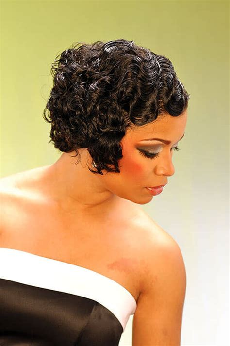 black people hair finger wave with wet and wavy hair added 20 evening hairstyles for black women