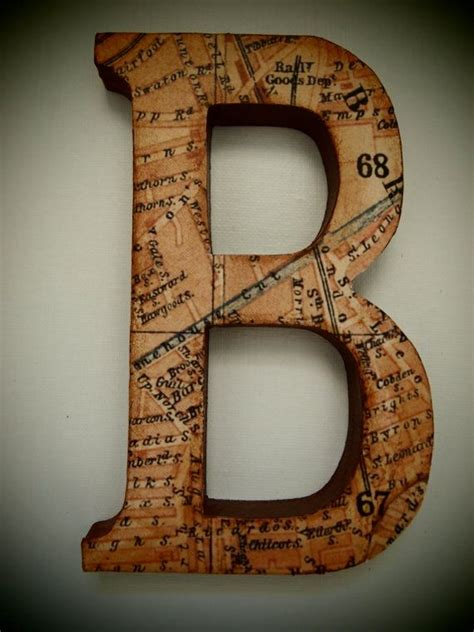 Decoupage Letter Ideas - 1000 ideas about decoupage letters on diy