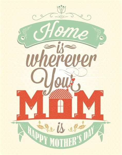your moms house home is where your mom is free printable mother s day card