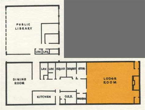 masonic lodge floor plan the masons of st louis park st louis park historical