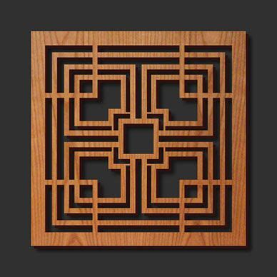 lloyds woodworking decorative frank lloyd wright designed laser cut wood