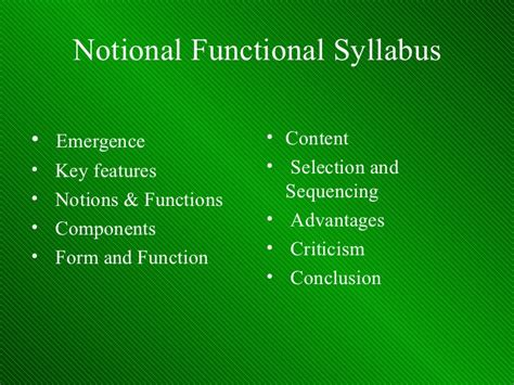 layout features functional skills notional functional syllabus design