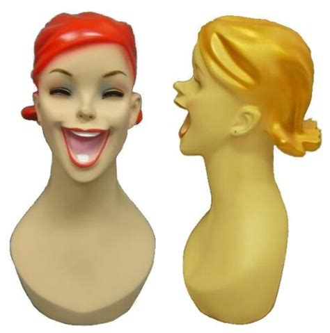 female display heads mannequin head forms display display forms mannequin heads female male torsos