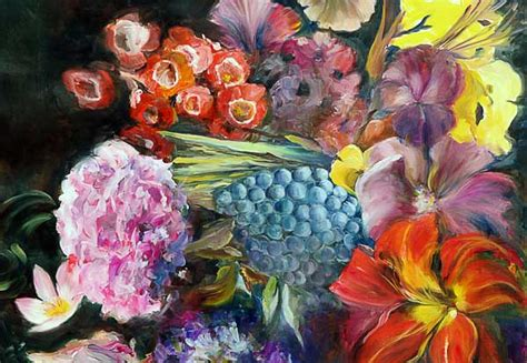 imagenes de flores multicolores flores multicolores ingeborg kuhn