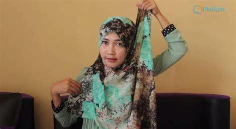 tutorial hijab segiempat hang out tutorial hijab pashmina gaya hang out
