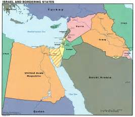 Map Of Middle East Israel by Marty Nemko March 2010
