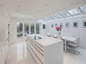White Gloss Kitchen Ideas by Gloss White Kitchen Design Ideas Kitchen And Decor