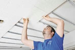 Ceiling Tile Installation How To Install Ceiling Tiles From Armstrong