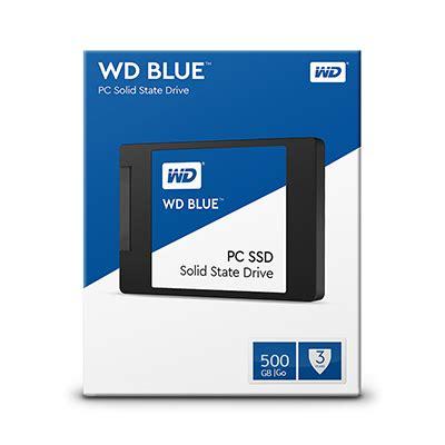 Wd Blue Ssd 2 5 500gb Sata Biru ổ cứng ssd wd blue 500 gb sata 2 5 inch wds500g1b0a