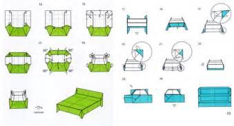 Fashion Origami Set - new furniture comes into the fold gardens