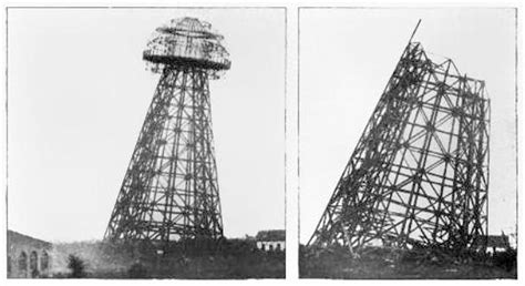 Tesla Free Energy Tower File Wardenclyffe Tower Tesla New York Demolition July