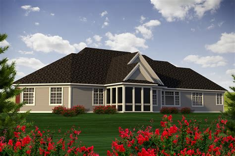 ranch house plans hillcrest 10 557 associated designs traditional style house plan 2 beds 3 00 baths 3126 sq