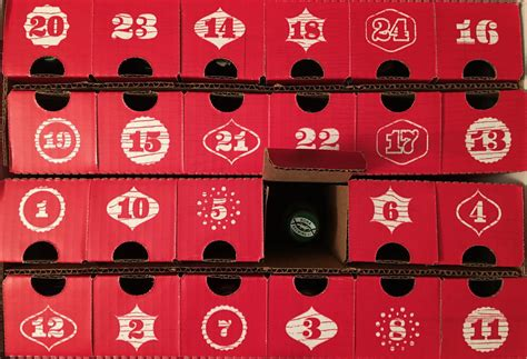 advent calendar brwbox craft calendar a drinkers