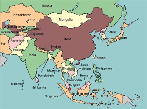 map of asia countries quiz map of asia with countries labeled maps