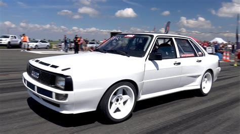 Audi 90 20v by Audi 90 Turbo Quattro 2 2l 20v 5 Cylinder 1 2 Mile Test