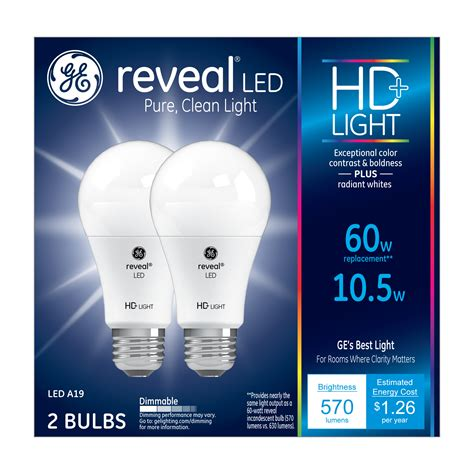 Meet Ge S First High Definition Led Light Bulbs Ge Led Light Bulbs Definition