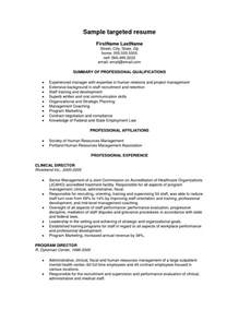 Exle Of Targeted Resume by Resume Trends 2016 Best Resume Format