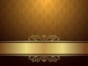 Vector: Golden Background With Luxury Design And Elegance Concept