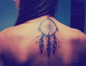 dream catcher tattoo on neck back tattoobite com