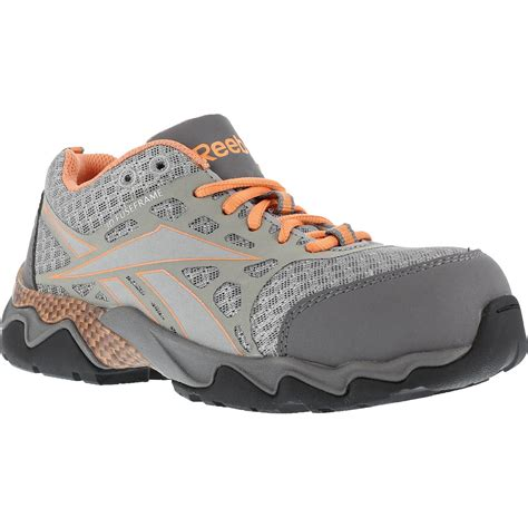 composite toe athletic shoes s composite toe work athletic shoe reebok beamer