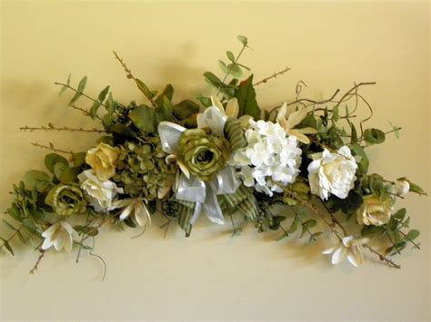artificial flower swags bing images