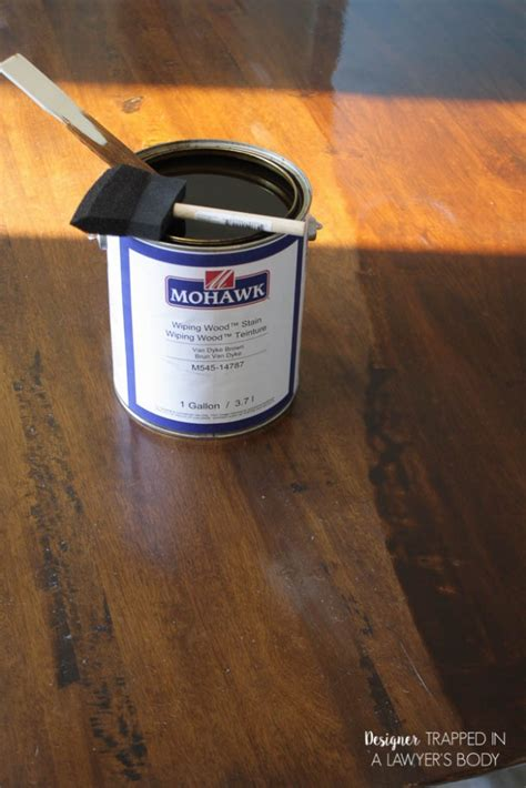 how to refinish a table without sanding how to refinish a table without sanding or stripping