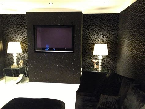 Cheetah print bedrooms black glitter wallpaper bedroom bedroom wallpaper texture bedroom