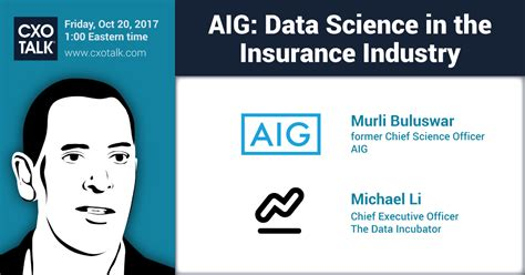 decoding the social world data science and the unintended consequences of communication information policy books aig data science in the insurance industry cxotalk