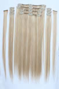Sally Hair Extension by 100 Remy Clip In Human Hair Extensions