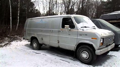buy car manuals 1993 ford econoline e350 navigation system very cold start 1985 ford e350 6 9l diesel van youtube