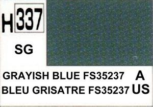 Mr Color 337 Mr Colour Hobby Hoby Warna Grayish Blue Fs35237 Greyish maquette mr hobby peinture