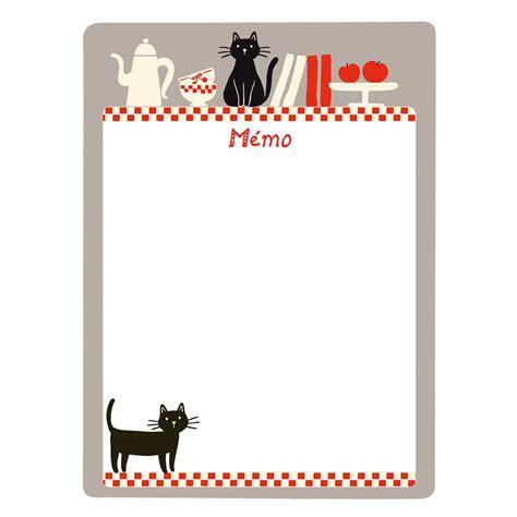 memo pour cuisine tableau m 233 mo magn 233 tique chats p021 v030310 achat