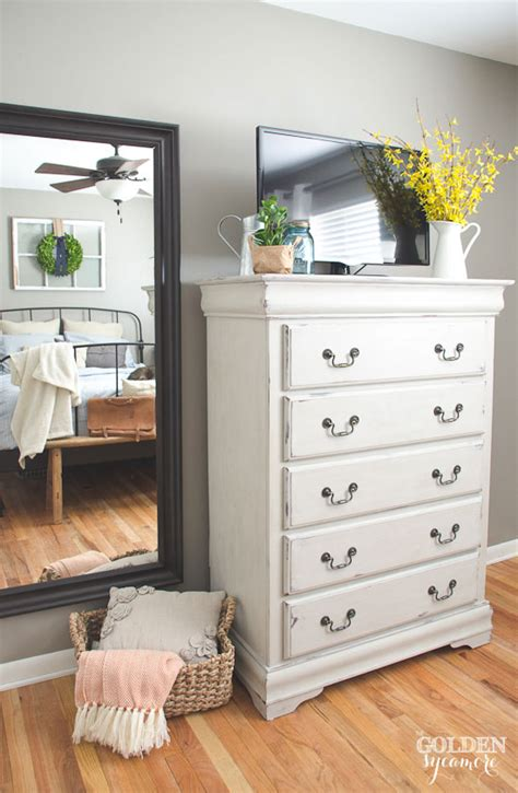 Painted Bedroom Dressers Painted Bedroom Dresser The Golden Sycamore