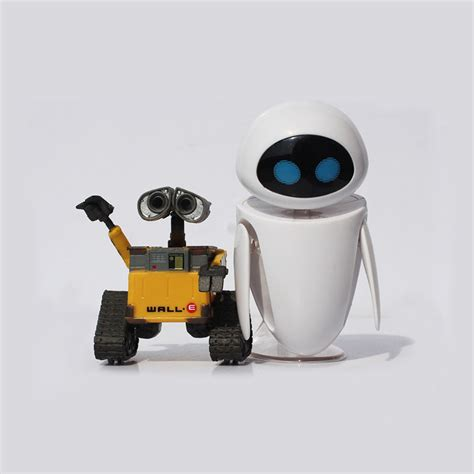 membuat robot wall e optional wall e robot eve pvc action figure wall e