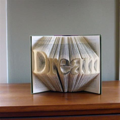 custom gifts unique gifts present dream custom folded book art