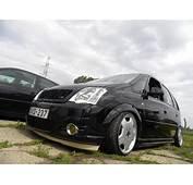 Opel Meriva Gets Dark Custom Treatment  Autoevolution